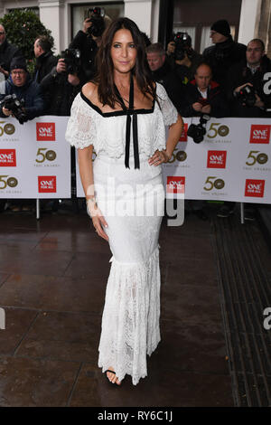 London, UK. 12th Mar, 2019. LONDON, UK. March 12, 2019: Lisa Snowdon arriving for the TRIC Awards 2019 at the Grosvenor House Hotel, London. Picture: Steve Vas/Featureflash Credit: Paul Smith/Alamy Live News - Stock Image