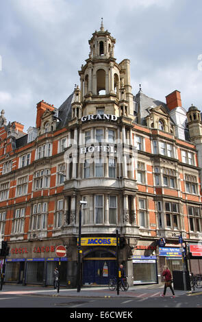 Mecure Leicester City Hotel, formerly the Grand Hotel, Granby Street, Leicester, England, UK - Stock Image