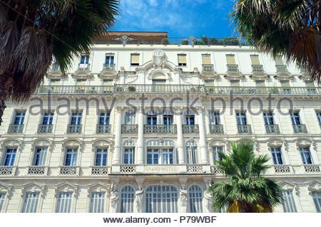 Grand Hotel de la Gare, in Toulon, in the Var department, Provence-Alpes-Côte d'Azur region, southern France. - Stock Image