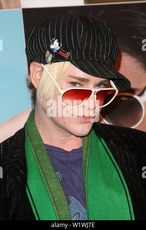New York, USA. 13 March, 2009. Designer, Richie Rich at the launch of Carrera Vintage Sunglasses at Angel Orensanz Foundation. Credit: Steve Mack/Alamy - Stock Image