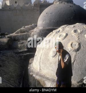 Traditional scene Taiz Yemen - Stock Image