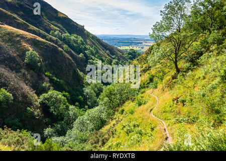 The Alva Glen in the Ochil Hills, Clackmannanshire, Scotland, UK - Stock Image