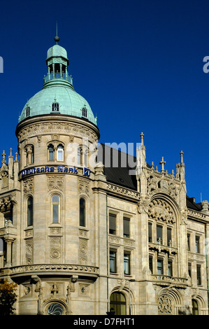 Germany, Hannover, the German bank house, Deutsche Bank - Stock Image