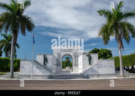 El Cementario de Cristobal Colon (Colon Cemetary) was founded in 1876 in Vedado, Havana, Cuba to replace Espada Cemetary. Named for Christopher Columb - Stock Image
