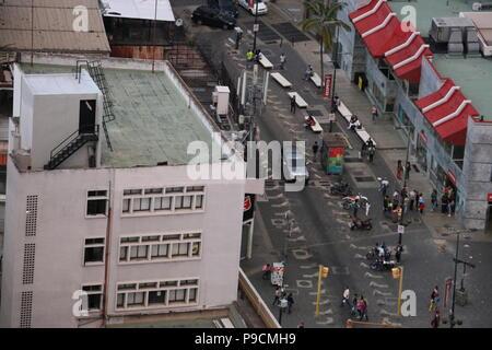 The Sabana Grande Area in Caracas from El Recreo Shopping Mall (Centro Comercial El Recreo). Photos taken by Marcos Kirschstein and Vicente Quintero - Stock Image
