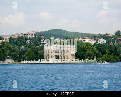 Bosphorus Istanbul Historical Building - Stock Image