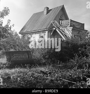 Anton Chekhov's house in the Melikhovo museum estate - Stock Image