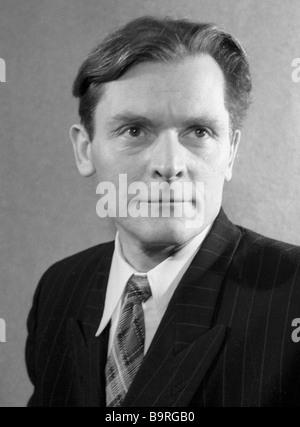 Poet Alexander Yashin - Stock Image