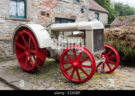 Fordson Model F Tractor at Beamish Living Open Air Museum - Stock Image