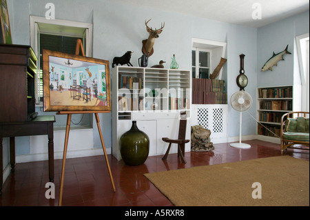 Writers Studio at Ernest Hemingway Residence Key West Florida - Stock Image
