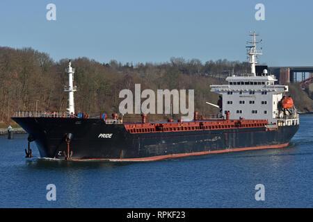 Bulk Carrier Pride - Stock Image