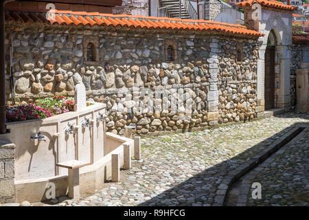 To ritually wash hands Bektashi order of Islam building Old town Prizren Kosova - Stock Image