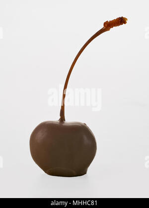Chocolate Covered Cherry - Stock Image