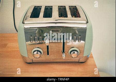 Breville electric retro toaster. - Stock Image