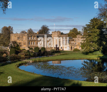 Forde Abbey, near Chard, an old monastery. - Stock Image