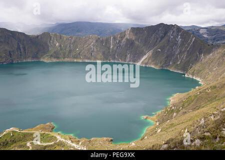 Laguna de Quilotoa, Ecuador - Stock Image