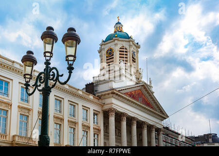 Royal Square in Brussels, Belgium - Stock Image