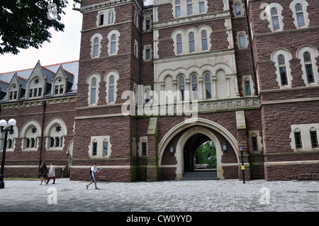 Trinity College, Hartford, Connecticut, USA - Stock Image
