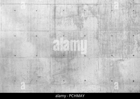 Raw gray concrete beton wall as full frame background. - Stock Image
