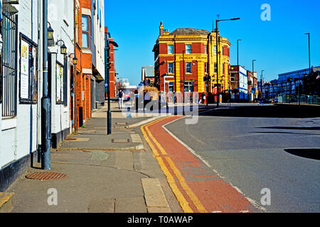 The Rutland Arms, Brown Street, Sheffield, England - Stock Image