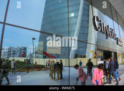 Citylife Shopping district, Milan, Italy - Stock Image