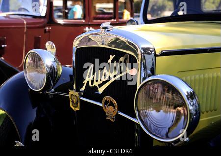 Vintage Austin 7 motor car. - Stock Image