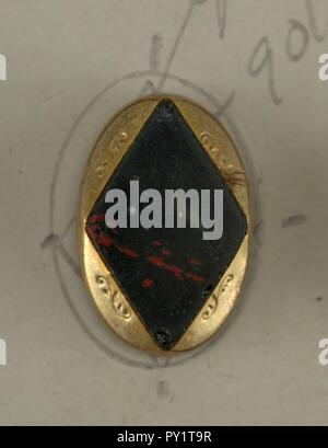 Button (possibly France), 19th century - Stock Image