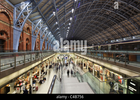 England, London. St. Pancras International, home of Eurostar and gateway to the Continent. - Stock Image