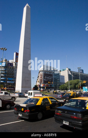 Buenos Aires Obelisco - Stock Image