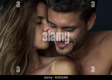 Affectionate couple - Stock Image