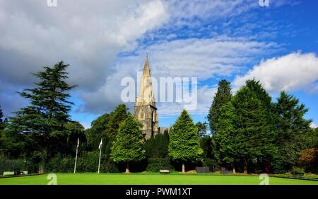 St Marys community church,Ambleside,Lake district,England,UK - Stock Image