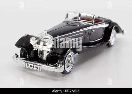 Matchbox Models of Yesteryear Y-20 Mercedes-Benz 540k 1938 - Stock Image