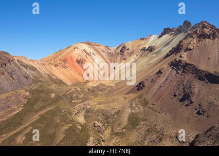 Tunupa volcano in Bolivia - Stock Image