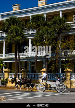 Charleston, South Carolina quaint historical town - Stock Image