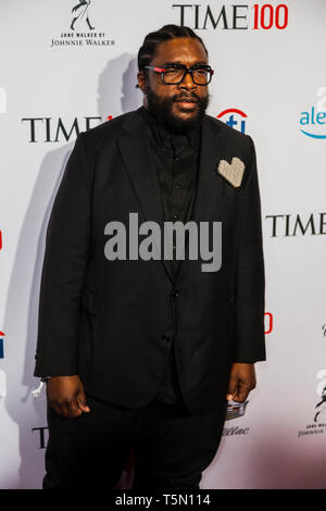 Questlove attends TIME 100 GALA on April 23 in New York City - Stock Image