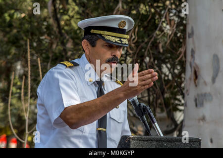 City of Los Angeles Fire Chief Ralph M. Terrazas - Stock Image