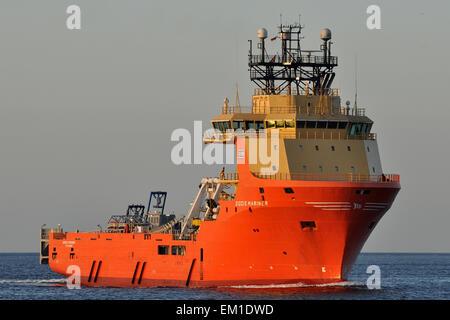 Offshore Supply Ship Siddis Mariner - Stock Image