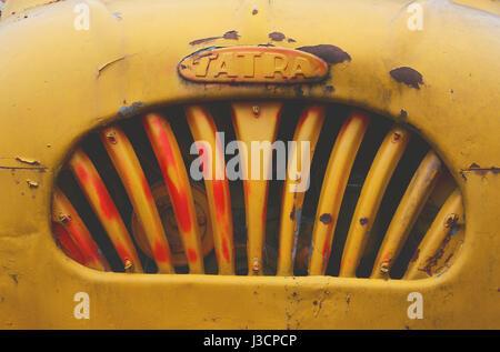 old Tatra truck - Stock Image