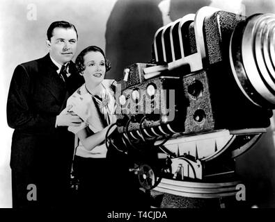 TALBOT,ASTOR, CAUGHT BY TELEVISION, 1936 - Stock Image