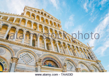 Pisa Cathedral in Italy - Stock Image