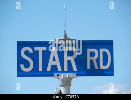 Star Road - Stock Image