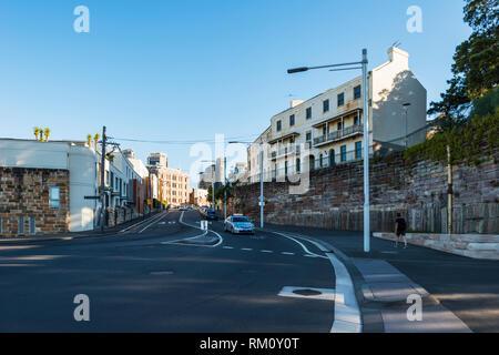 A Sydney street scene. - Stock Image