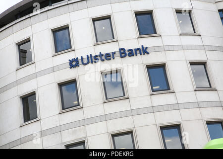 Ulster bank building dublin - Stock Image