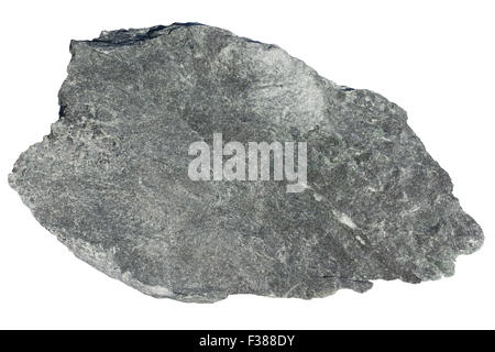 Soapstone (mixture of talc, amphiboles, chlorite) - Stock Image