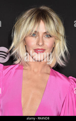JULIANNE HOUGH American dancer, singer and film actress at  Spotify's Best New Artist Party at the Hammer Museum on February 07, 2019 in Los Angeles, California.  Photo: Jeffrey Mayer - Stock Image