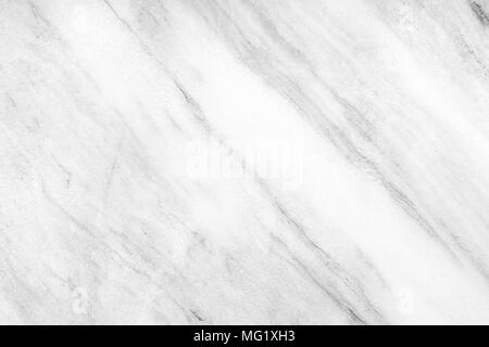 White Marble Wall Texture Background. - Stock Image