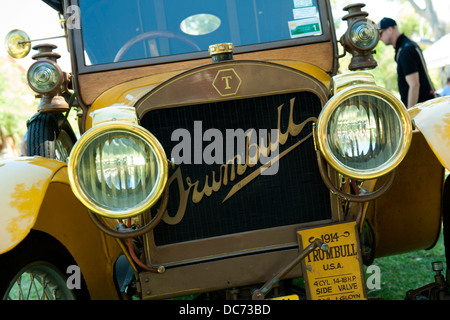 1914 Trumbull motor car from the USA. - Stock Image