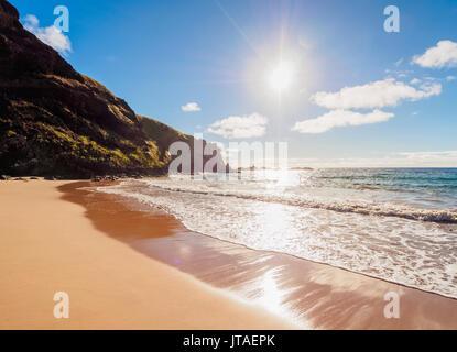 Ovahe Beach, Easter Island, Chile - Stock Image