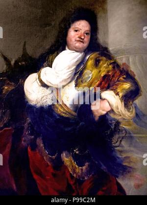 Capitano Veneziano - Venetian Captain by Sebastiano Mazzoni 1611-1678 Italy Italian - Stock Image