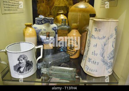 Barnstaple Museum, Barnstaple, Devon, UK - Stock Image